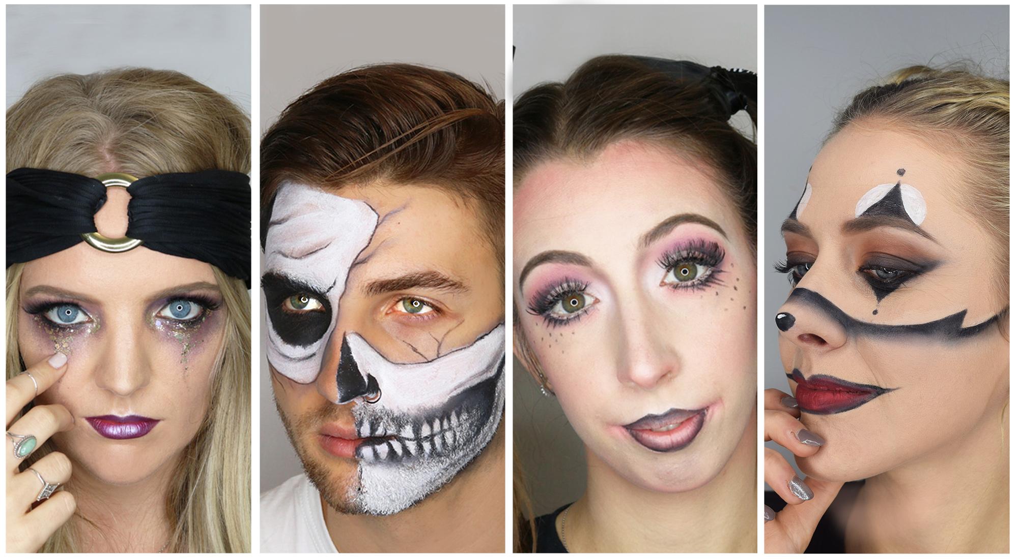 Halloween Makup 2019 Ideas Spook tacular Halloween makeup looks for 2018 | blow LTD