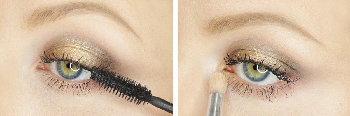 Tutorial Gold Smokey Eye Makeup Blow Ltd
