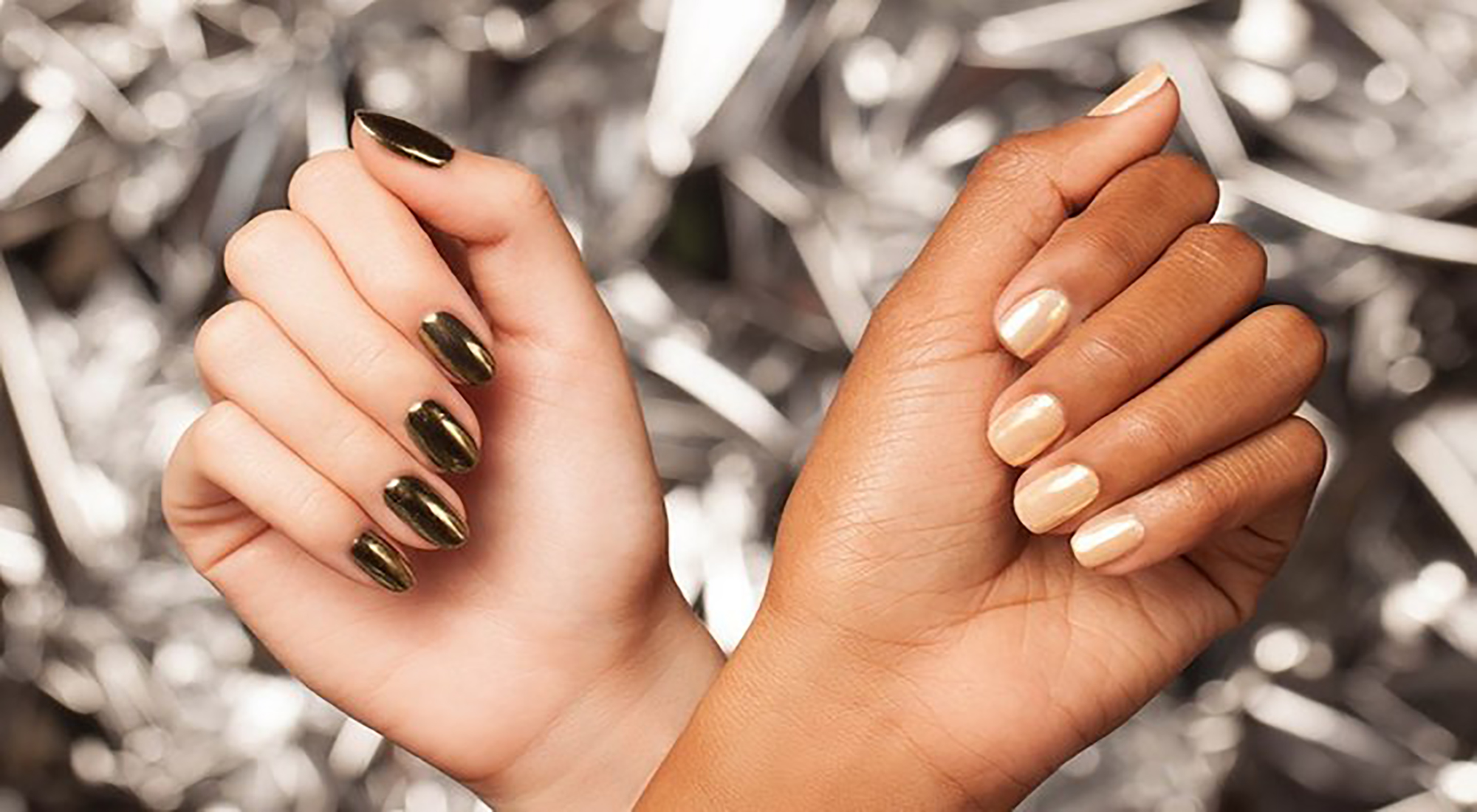 How To Get Chrome Nails For Christmas | blow LTD